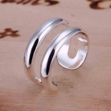 Silver-Plated New Design Ring