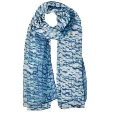 Snakeskin Pattern Fashion Winter women Scarf - Green/Blue