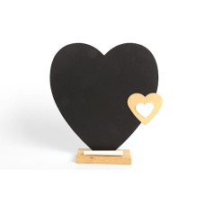 Heart Shape Kitchen Chalk Board