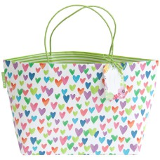 ARTEBENE Gift Bag with Hearts Pattern