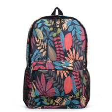 Leaf Print Backpack