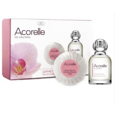Acorelle White Orchid Eau de Toilette and Soap Gift Set