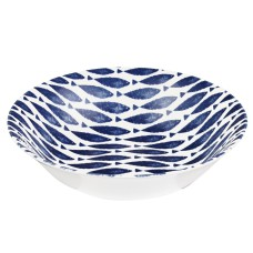 Couture Sieni Mint Fishie All Over Salad Bowl - 24cm