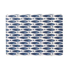 Couture Set of 6 Sieni Fishie Rectangle Placemats