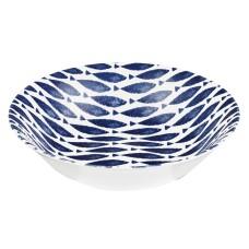 Couture Mint Fishie Scollop Bowl - 22cm