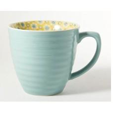 Aqua Paisley Mug -250ml