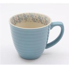 Light Blue Paisley Mug - 250ml