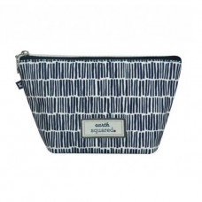 Earth Squared Navy Bamboo Make-Up Bag