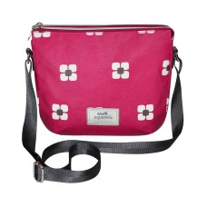 Earth Squared Red Berry Flower Messenger Bag