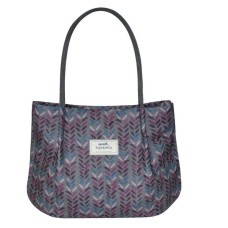 Earth Squared Herringbone Freya Bag