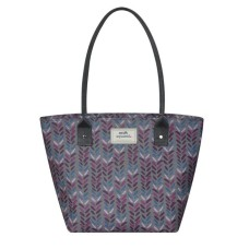 Earth Squared Herringbone Tote Bag