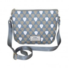 Earth Squared Grey Lantern Messenger Bag