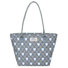 Earth Squared Grey Lantern Tote Bag