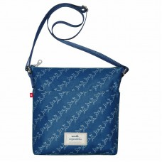 Earth Squared Blue Seagull Messenger Bag