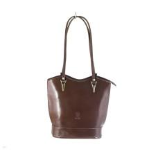 Chelsea - Chestnut Italian Handbag