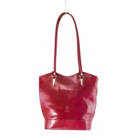 Chelsea - Red Italian Handbag