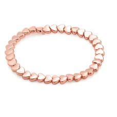 Rose Gold Mini Hearts Bracelet