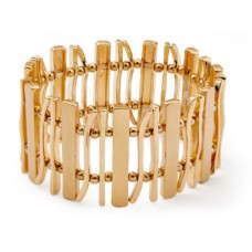Gold Statement Stretchy Bracelet