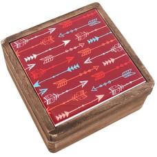Boho Bandit Small Wooden Ceramic Box