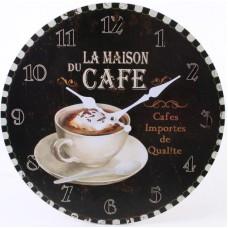 Large Rustic Café Clock