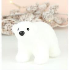 Lisa Angel Baby Polar Bear Ornament