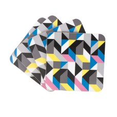 MAIK Colour Triangle Coaster Set (4)