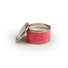 Lotus Blossom Tin Candle