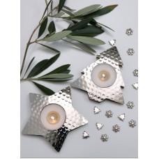 Retreat Home Star and Tree Tea Light holder