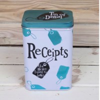 The Bright Side - Receipts Tin