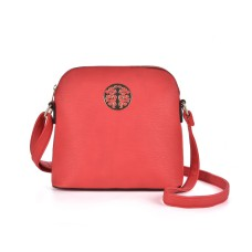 Sally Young Fashion Satchel Messenger Bag - Red