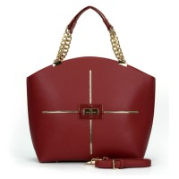 Sally Young Frenchie Handbang - Ultra Collection - Red