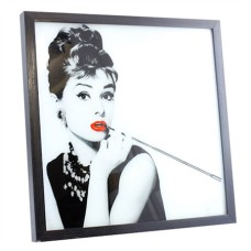Audrey Hepburn LED Wall Art Picture Frame
