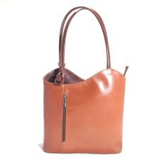 Danielle - Red Italian Handbag